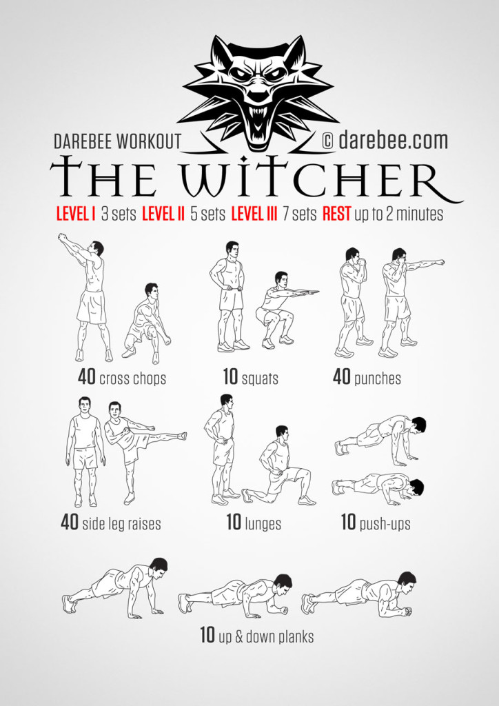 witcher-workout