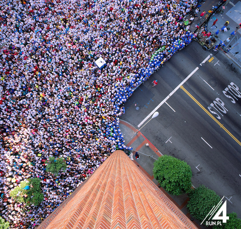 Bay to Breakers from above