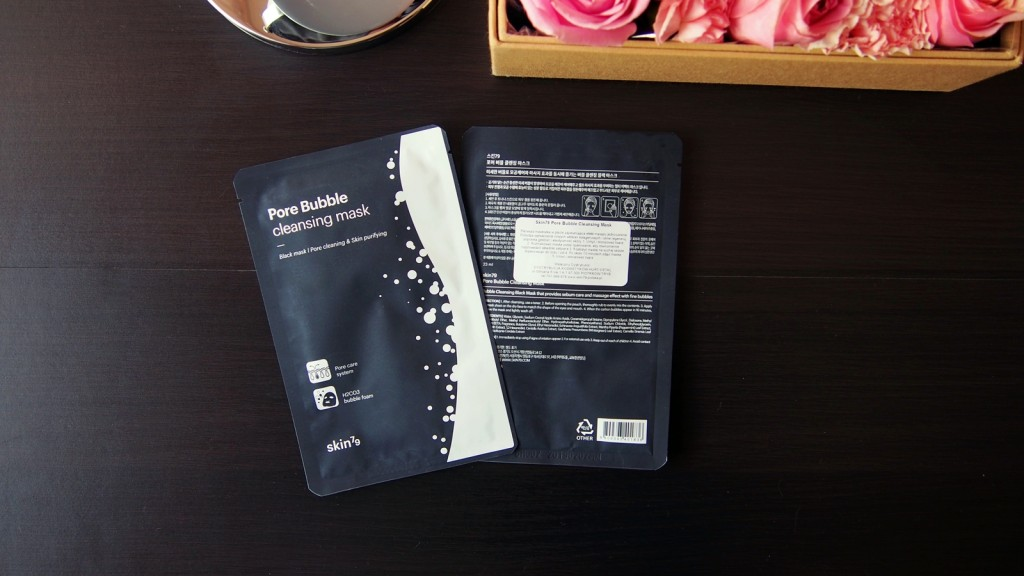 Pore Bubble Cleansing Mask 3
